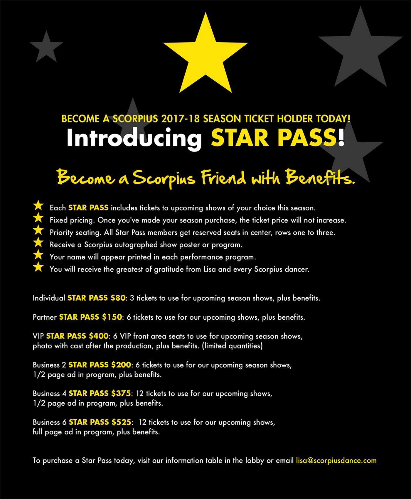Star Pass details